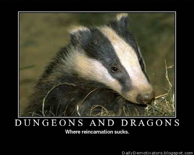 Dungeons And Dragons Demotivational Poster