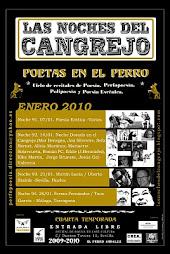 """Recital en el Perro Andaluz, Sevilla,  20 poetas valencianos asiduos del """"El Dorado"""".14 enero 2010."""
