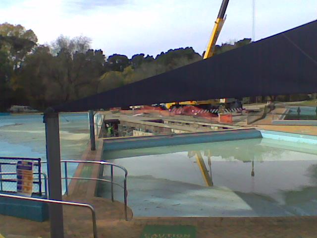Blackheath Pool Summer Swimming Since 1931 Balance Tank Fix Continues