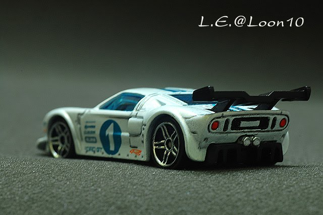 Before Detailing Ford Gt Lm