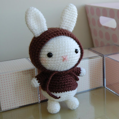 Blue Bunny - Christmas Crafts, Free Knitting Patterns, Free