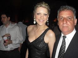 Renata Fan e Emidio Campos