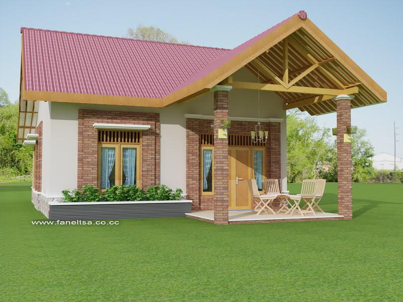 gambar rumah kampung sederhana images