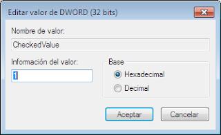 """Activar la opcion """"mostrar archivos y carpetas ocultos"""" en Windows o desactivada por virus 4"""