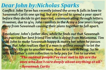 book report on dear john by nicholas sparks 1101 results for nicholas sparks there was a wealthy but oafish carpenter named john who owned a house in the town of oxford a poor young student nicholas.