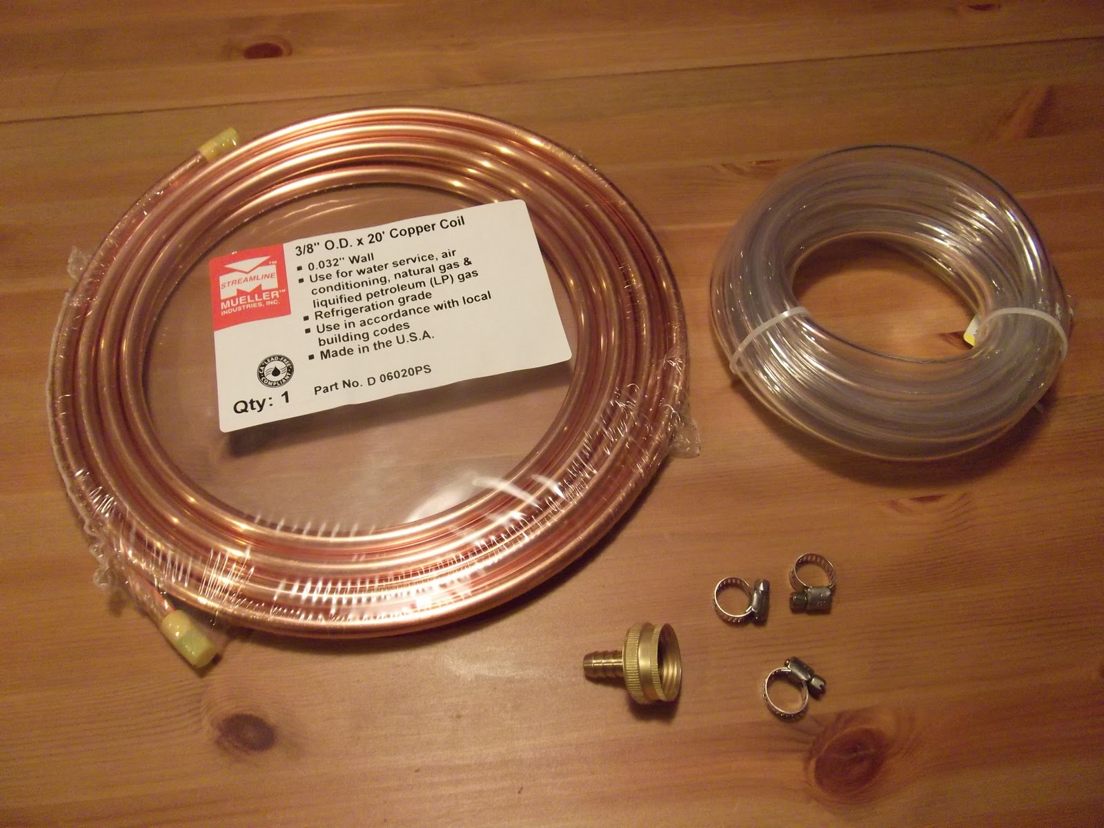 The Not So Professional Beer Blog: Make Your Own Wort Chiller