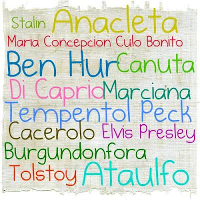 Los nombres reales mas tontos del mundo
