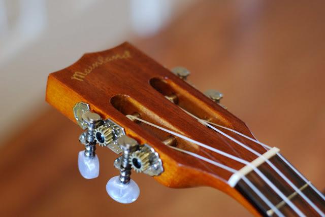 mainland concert ukulele slotted headstock