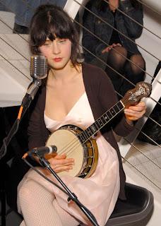 zooey deschanel ukulele