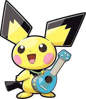 pikachu nintendo ukulele