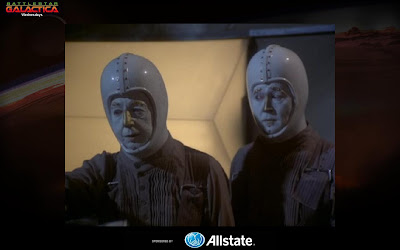 The butcher shop the original battlestar galactica commentary part there are two androids vector and hector that take them to sarahs fathers ranch her father has died these two androids are like two c 3pos m4hsunfo
