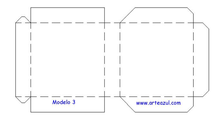 Moldes para cajas de papel corrugado faciles - Imagui