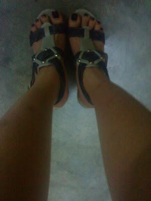 超爱这双高跟鞋 ♥