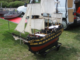 model ship of the line