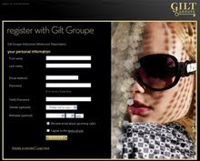 Click the Image below to get your exclusive membership invititation to Gilt Groupe