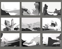 Environment Grey Scale Comps