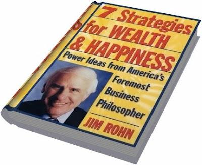 SIETE ESTRATEGIAS PARA ALCANZAR RIQUEZA Y FELICIDAD, Jim Rohn [ Libro ] – Relato autobiográfico de Jim Rohn, resumiendo cómo cambió el rumbo de su vida.