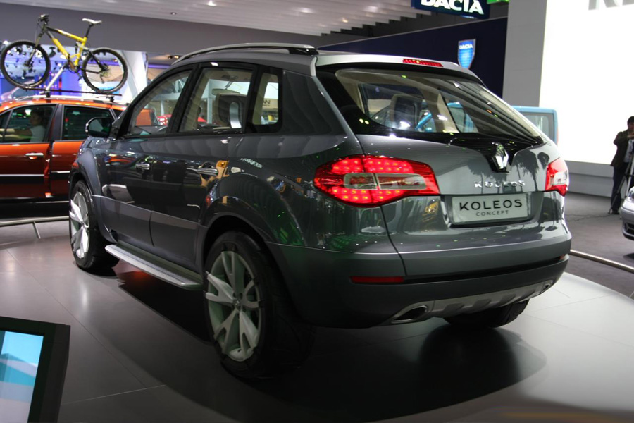 The Koleos sports a 2.5-litre engine, that produces 170bhp at 6,000rpm ...
