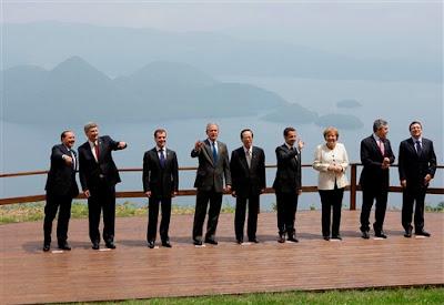 Cumbre G-8 en Japon