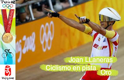 Joan Llaneras - Ciclismo en pista - Pekin - Beijing 2008