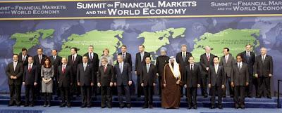 Reunión del G-20 el 15 noviembre 2008