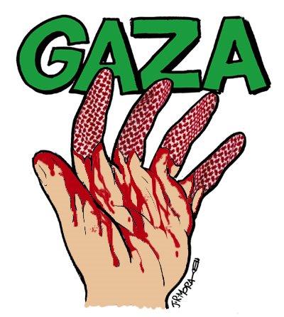 Anillo Solidario contra la masacre de Gaza