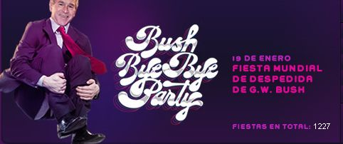 BUsh Bye Bye Party