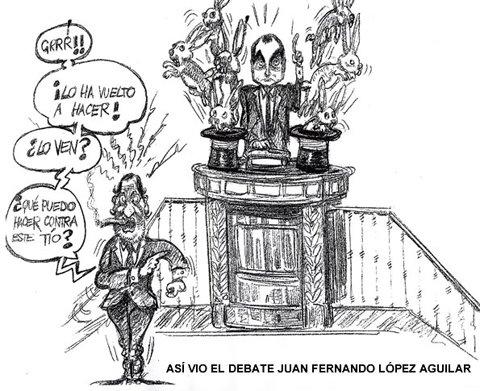 Dibujo de Juan Fernando Lopez Aguilar