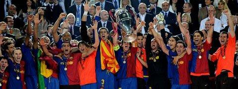Triplete del Barcelona