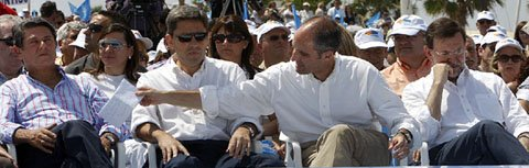 Trillo, Camps, Rajoy