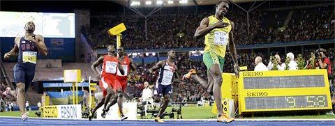 Usain Bolt record mundial en 9.58
