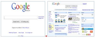 google igoogle
