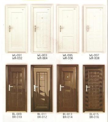 Tipe Pintu Besi