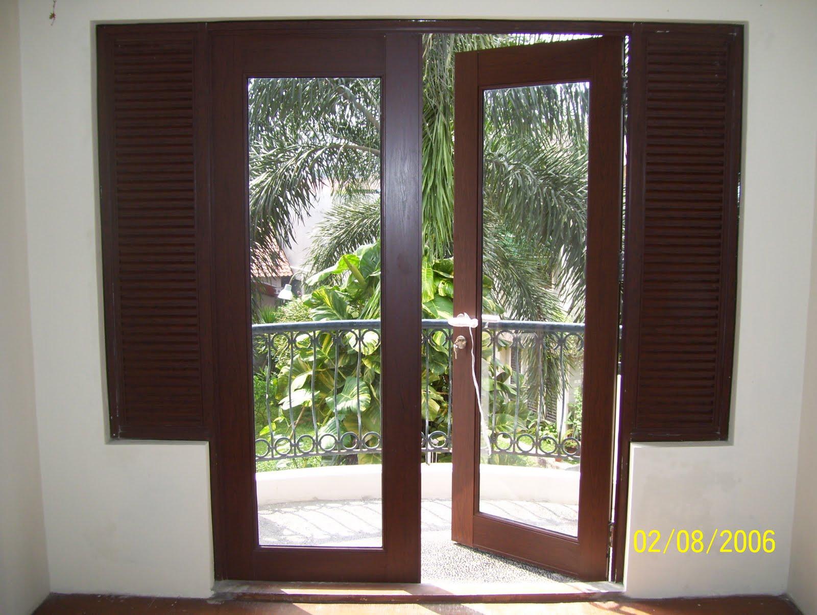 Desain Kusen Minimalis Kusen Minimalis Alumunium Kaca Jendela Pintu