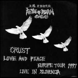 BATTLE OF DISARM - CRUST,LOVE AND PEACE - (JAPON)