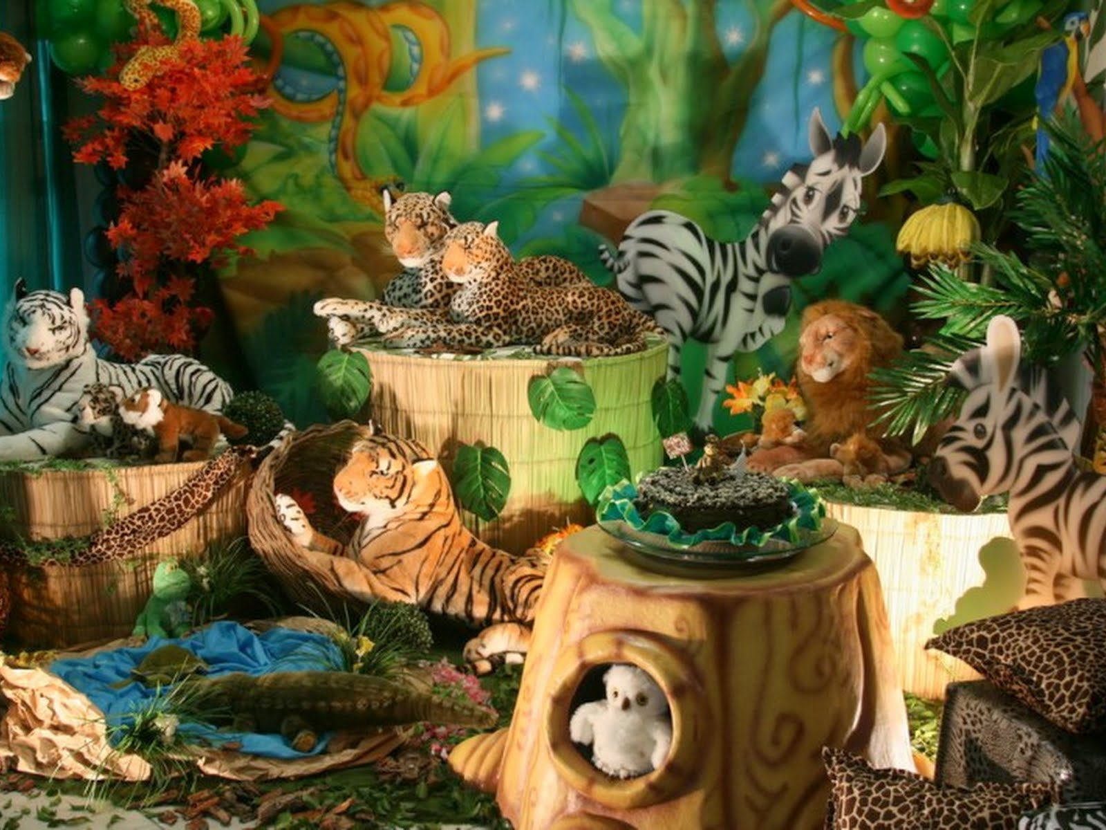 Muitas Ideias Para Festa Infantil   Tema Safari Na   Frica Parte 3