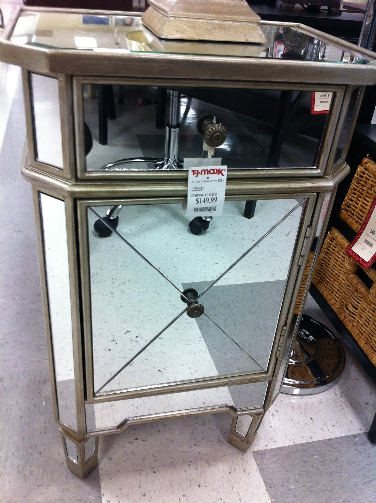 Home goods nightstands better homes and gardens lillian for Home goods in yonkers