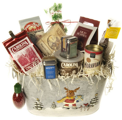 gift moose basket