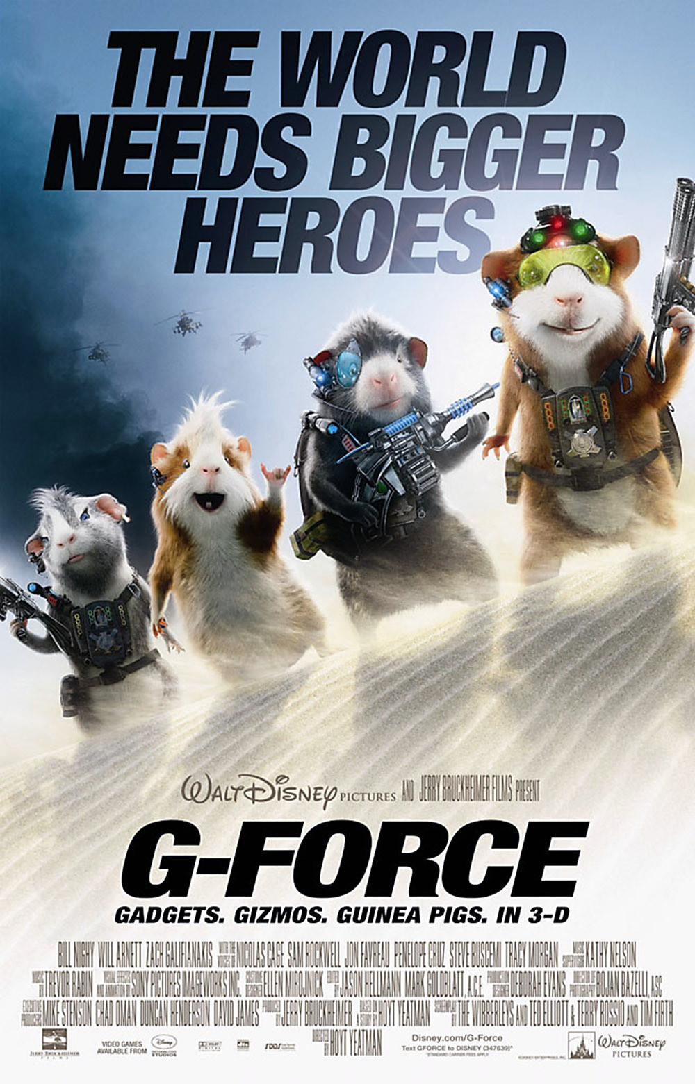 G Force Cartoon Characters Names : G force  mpdb