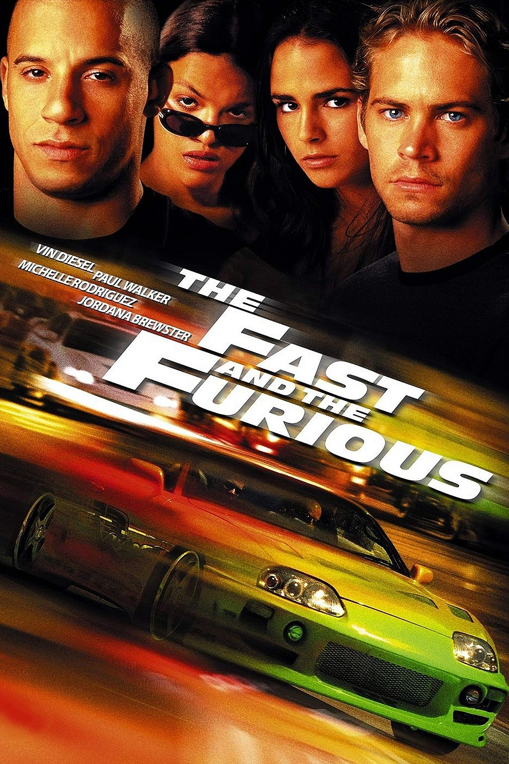 The Movies Database: [Posters] The Fast and the Furious (2001)