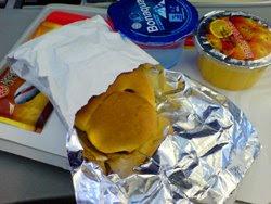 俺是香港航空飛機早餐
