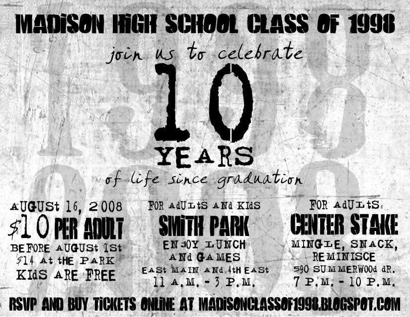 Madison High School Class of 1998