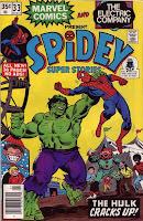 spidey rassles the hulk
