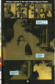 Interior comic page of Batman Sanctum