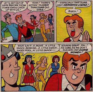 Archie says Yuck to women!