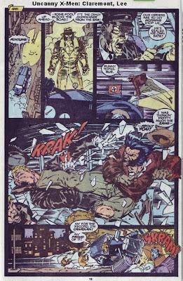 Wolverine kicks nazi ass