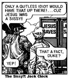 tough guy don't love jesus