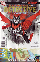 Batwoman nearly jumping out of comic!