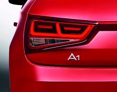 Audi A1 lights