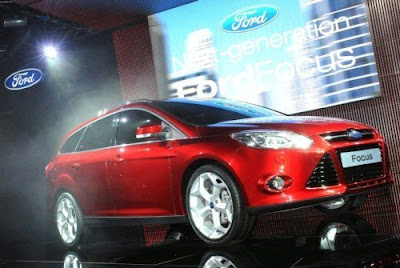 New Ford Focus Wagon Live Genava 2010